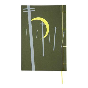 和綴じノート(単行本サイズ) 宮澤賢治 月夜のでんしんばしら