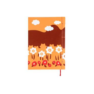 和綴じノート(文庫本サイズ) 小川未明 島の暮れ方の話