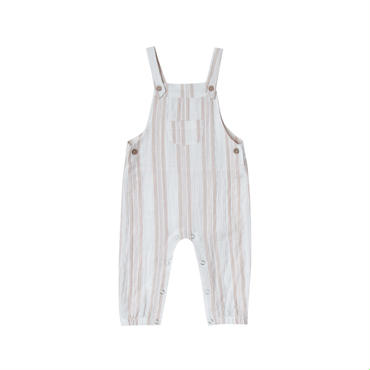 rylee+cru sand stripe baby  overall