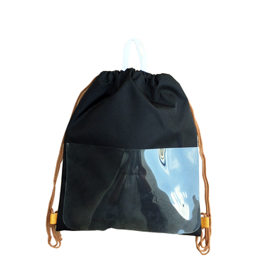 chocolatesoup  GEOMETRY  NAPSACK (BLACK)
