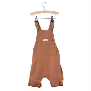 Little HEDONIST  SHORT  LEGGED  SALOPETE  (MOCHA)SIZE86
