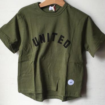 FOV   UNITED Tシャツ(カーキ)