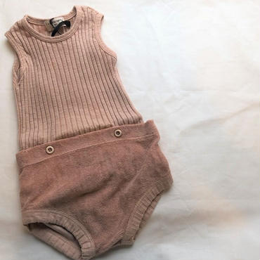 1+in the family AYALA two pieces romper(argila)