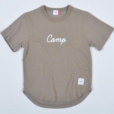 FOV   camp   Tシャツ (アッシュグレー)