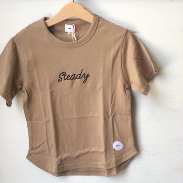 FOV  steady Tシャツ(キャメル)