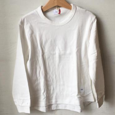 FOV  plain  L/S T シャツ(ホワイト)