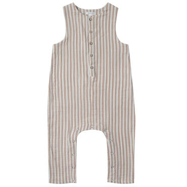 Rylee&cru   cocoa stripes button jumpsuit