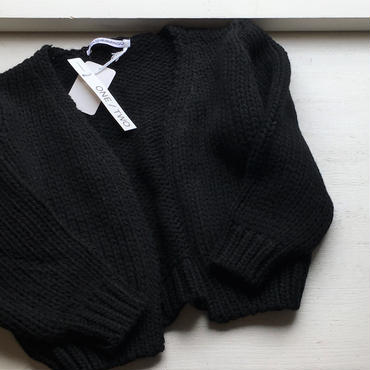MINGO. cardigan (black)