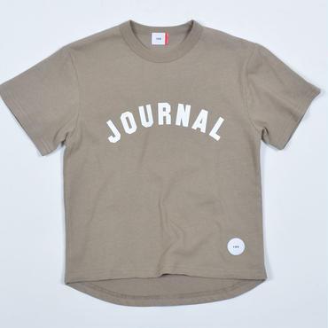 FOV   JOURNAL   Tシャツ(アッシュグレー)