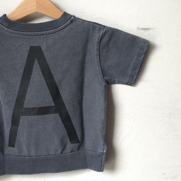 "ARCH&LINE CLOUDY H/S ""A""TEE (NAVY)"