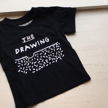 ARCH&LINE DRAWING TEE(NAVY)
