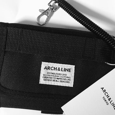 ARCH&LINE WALLET (BLACK)