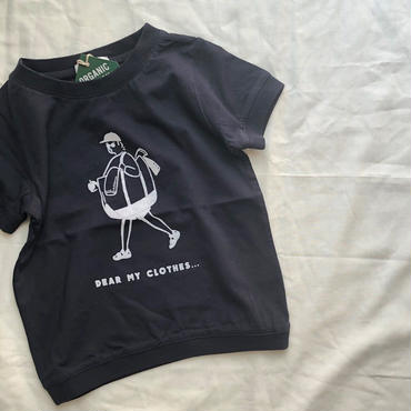 ARCH&LINE OG LAUNRY MAN  TEE(NAVY)kids