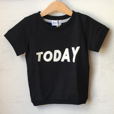 ARCH&LINE SLUB TODAY TEE(black)