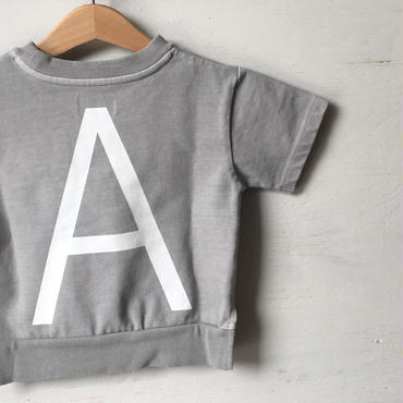 "ARCH&LINE CLOUDY H/S ""A""TEE (GREY)"
