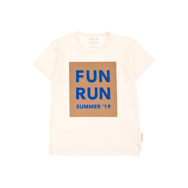 "tinycottons ""FUN  RUN""SS TEE"