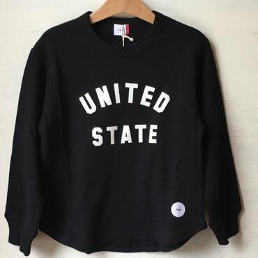 FOV U.S スウェット(ブラック)