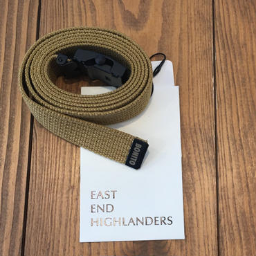 EAST END HIGLANDERS  Belt(beige)