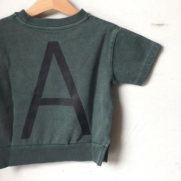 "ARCH&LINE CLOUDY H/S ""A""TEE (KHAKI)"