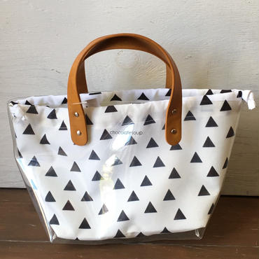 chocolatesoup  UTILITY TOTE BAG (triangle)