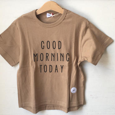 FOV  G.M. T Tシャツ(キャメル)