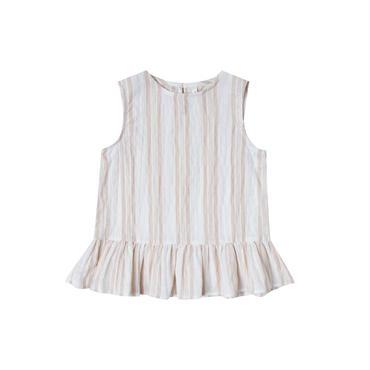 rylee+cru stripe carri  blouse