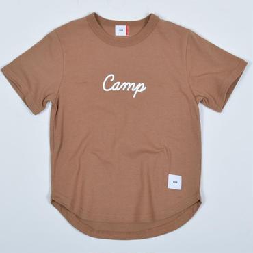 FOV   camp   Tシャツ (ライトブラウン)