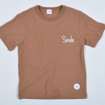 FOV   SMILE   Tシャツ (ライトブラウン)