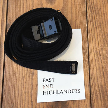 EAST END HIGLANDERS  Belt(black)