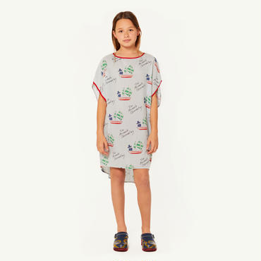 THE ANIMALS OBSERVATORY HUMMINGBRID  KIDS  DRESS