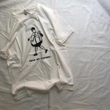 ARCH&LINE OG LAUNRY MAN  TEE(hwite)kids