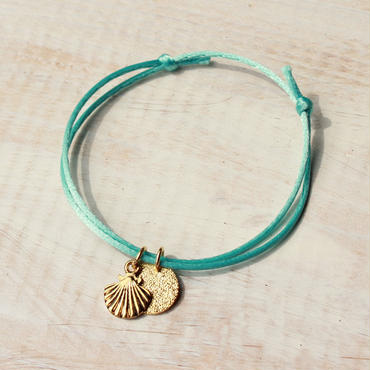 Shell Charm -Turquoise Blue-