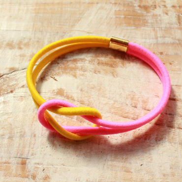 Hand to Hand -Neon Yellow×Neon Pink-