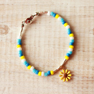 Flower Beads Bracelet D