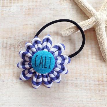 Flower Hair-gum Bracelet -CALI-
