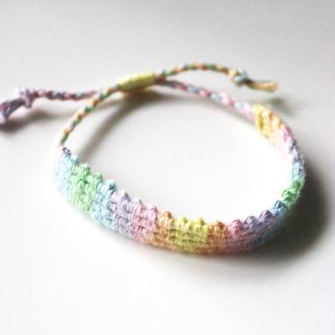 Gradation Hemp Bracelet A