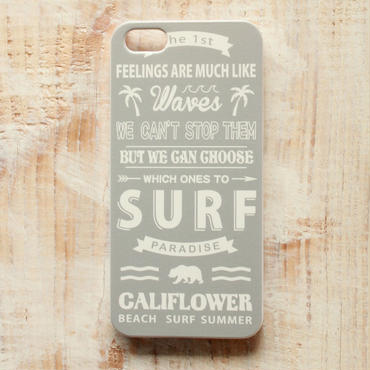 SURF -Gray Ver.-  iPhone Case