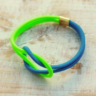 Hand to Hand -Neon Green×Neon Blue-