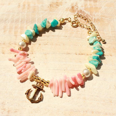Shell Bracelet  -Anchor-