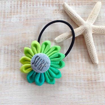 Flower Hair-gum Bracelet -SURF-