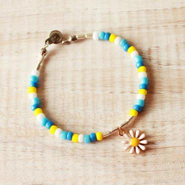 Flower Beads Bracelet C