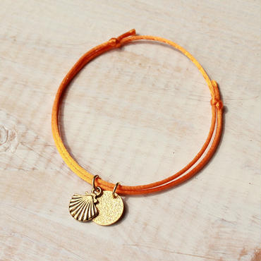 Shell Charm -Orange-