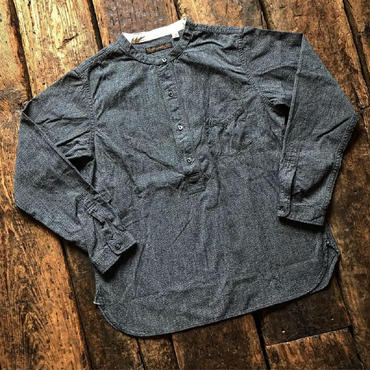 FULLCOUNT /EARLY 20TH PULLOVER CHAMBRAY WORK SHIRTS