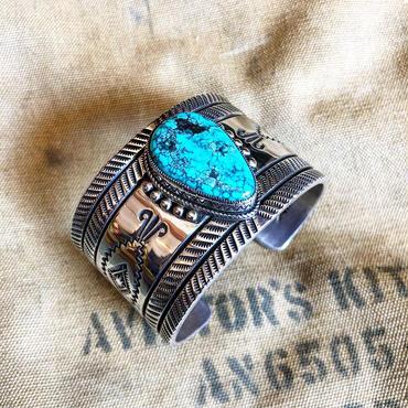 Navajo Delbert Gordon / Turquois Bracelet