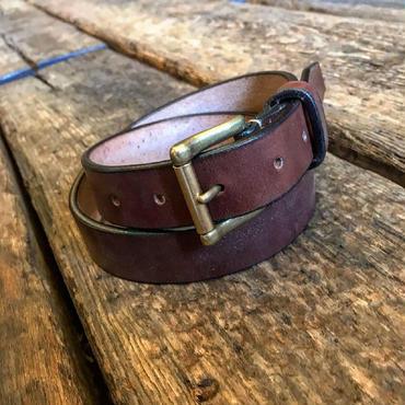Dutch Leather Company / belt (Wax finich)