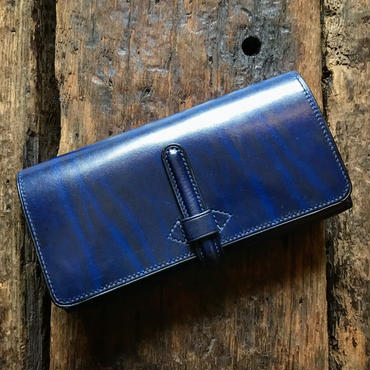 CALIFORNIA HARVEST / LONG WALLET (NAVY)