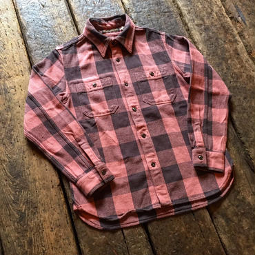 FULLCOUNT / 25th Original Buffalo Check Nel Shirts【25TH ANNIVERSARY ITEM】