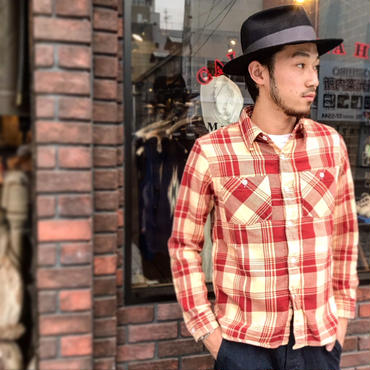 "FULLCOUNT / ORIGINAL CHECK NEL SHIRTS ""WALSH"""