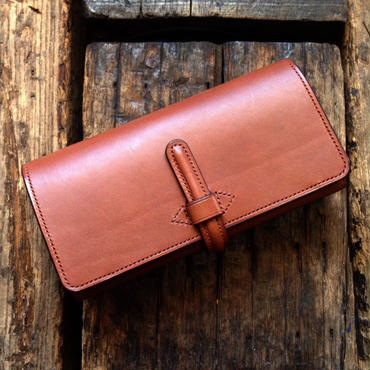 CALIFORNIA HARVEST / LONG WALLET (MARRON)