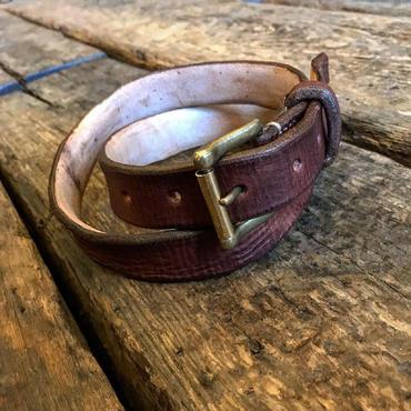 Dutch Leather Company / belt (Rusted)
